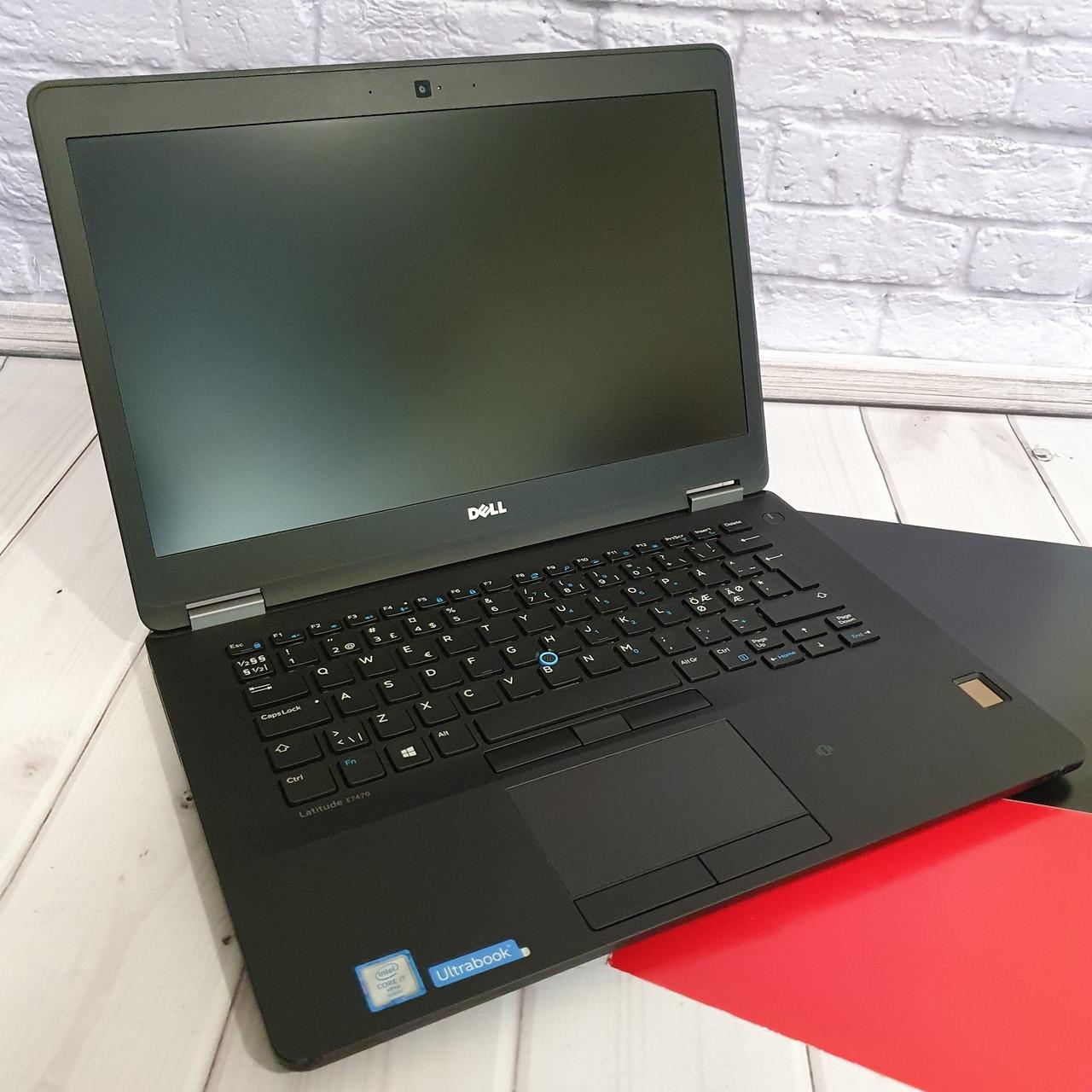 Ноутбук  Dell Latitude E7470 14( Intel Core i7-6600U/ 4x3.20 Ghz/16Gb DDR4/PCI 512 Gb/HD 520)