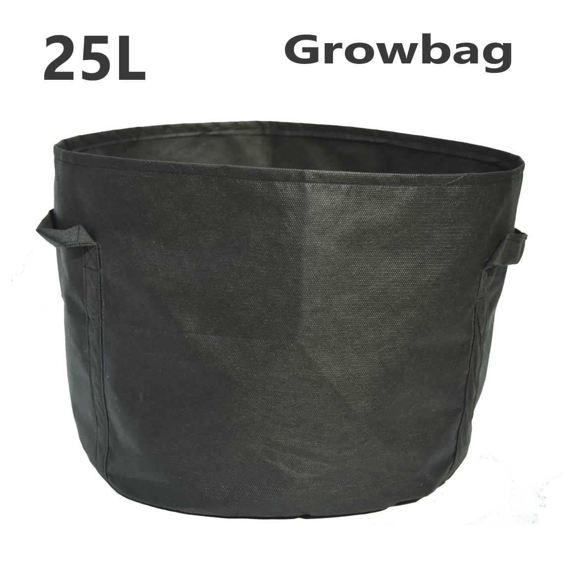 Тканевый горшок Grow Bag круглый 25л