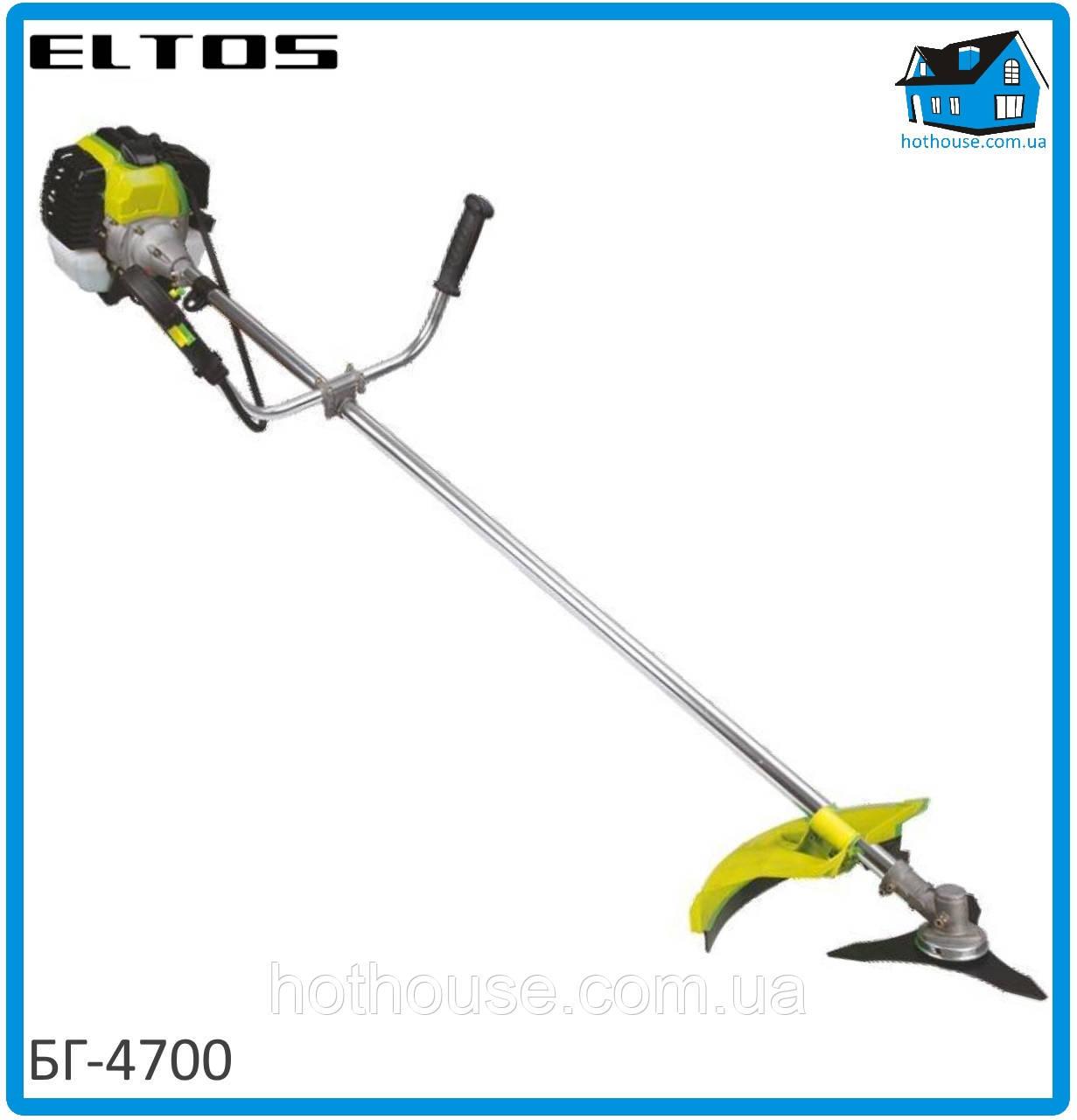 Бензокоса Eltos БГ-4700 (1 нож + 1 шпуля с леской)