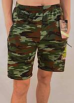 Шорты мужские камуфляжные с молниями на карманах XL - 5XL Бриджи камуфляж Ao longcom, фото 3