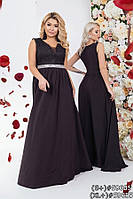 Платье в пол для особенных случаев 59605 (42–54р) в расцветках