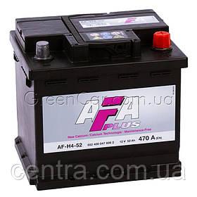 Аккумулятор 52Ah-12v AFA (207х175х190), R,EN470 552 400 047