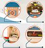 Детская игровая интерактивная кухня Bozhi Toys Fun Cooking с водой и холодным паром розовая, фото 6