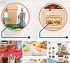 Детская игровая интерактивная кухня Bozhi Toys Fun Cooking с водой и холодным паром розовая, фото 7