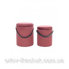 Пуф Chest T125/2 Redbrown/Black