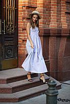 Однотонный сарафан с красивой спинкой, размер от 42 до 48, фото 3