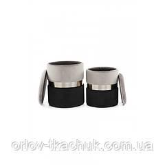 Пуф Derby T125/2 Grey/Black