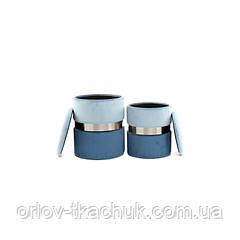 Пуф Derby T125/2 Lightgrey/Blue