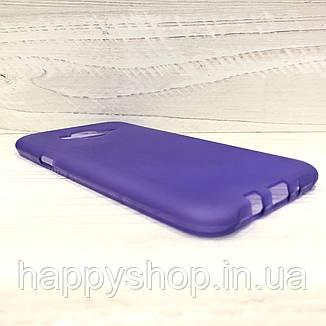 Силиконовый чехол для Samsung Galaxy J7 2015 (SM-J700) Фиолетовый, фото 2