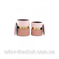 Пуф Derby T125/2 Pink/Darkpink