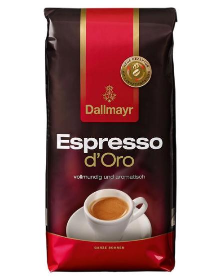 Кава в зернах Dallmayr Crema D'oro Espresso 1 кг