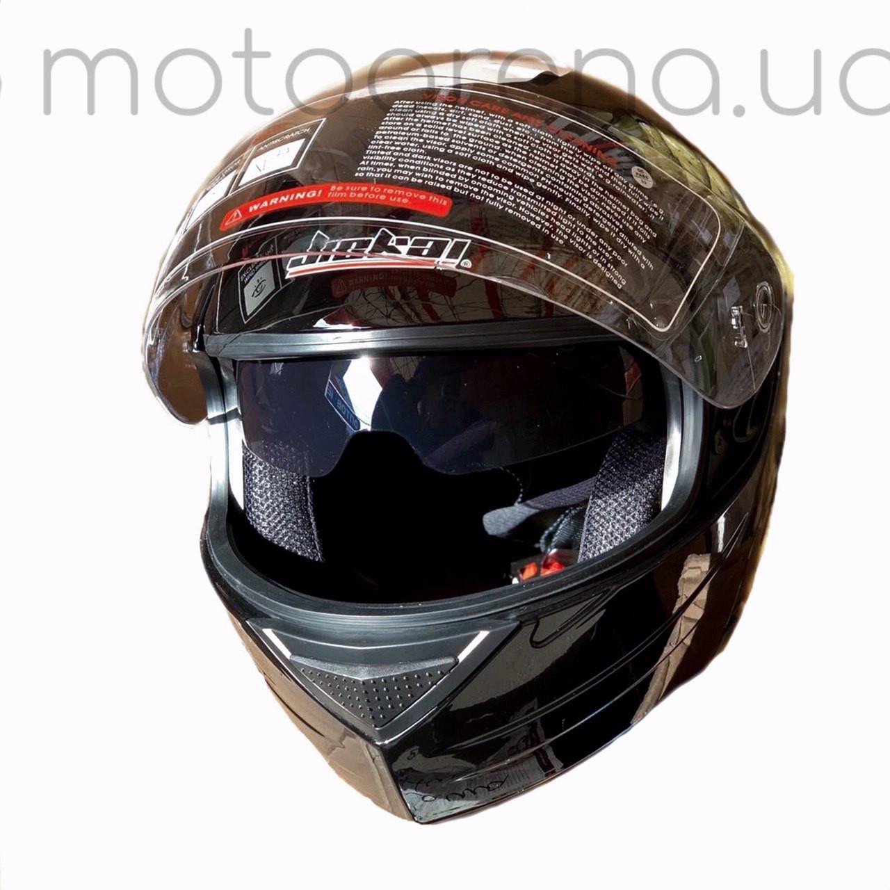 Шлем трансформер FGN (глянец чёрный)