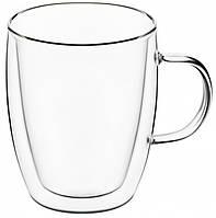 Набор чашек для латте с двойным дном 2 шт Ardesto AR-2627-G