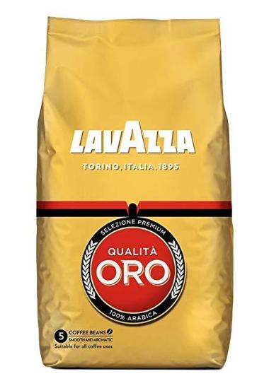 Кава в зернах Lavazza Oro 1 кг Італія (оригінал)
