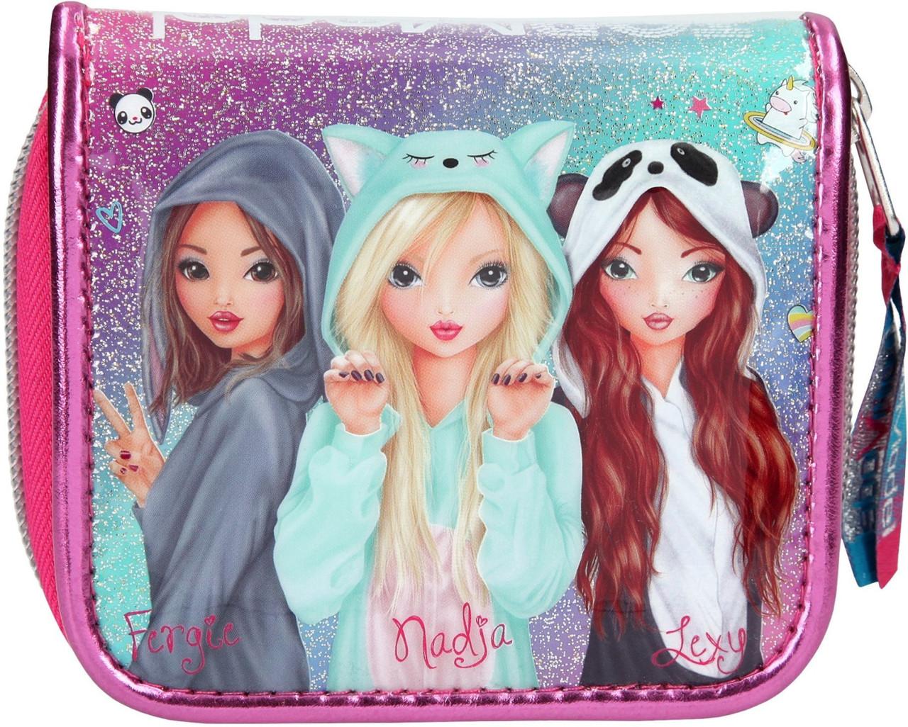 Гаманець ТОР Model 3 Подруги Pink Friends  10152 (Top-Model Кошелёк Top Model Фэнтези Друзья розовый 10152 )