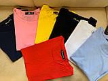 Футболка женская обличающая, максимальная классика, натуральная ткань, 8 цветов р.42-46 код 725Г, фото 2