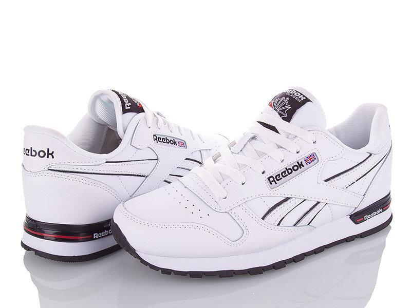 Мужские кроссовки Reebok Classic (белые) 45, 46 размер