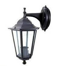 Уличный настенный светильник Lemanso PL6102 черный