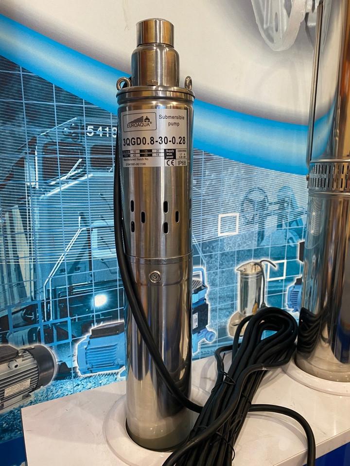 Шнековый глубинный насос Euroaqua 3QGD - 1 - 40 - 0,55