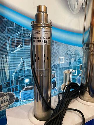 Шнековый глубинный насос Euroaqua 3QGD - 1 - 40 - 0,55, фото 2