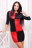 """Женское стильное платье """"Шахматы"""", фото 1"""