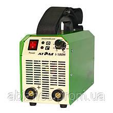 Сварочный инвертор АТОМ I-180H без сварочных кабелей и штекеров (вариант E)