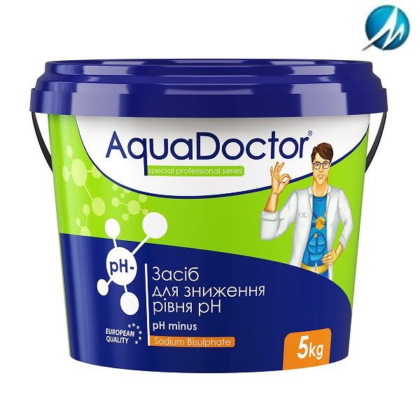 Средство для снижения уровня pH AquaDoctor pH Minus, 5 кг