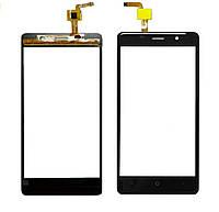 Touchscreen (сенсор) для Leagoo M5 Чорний