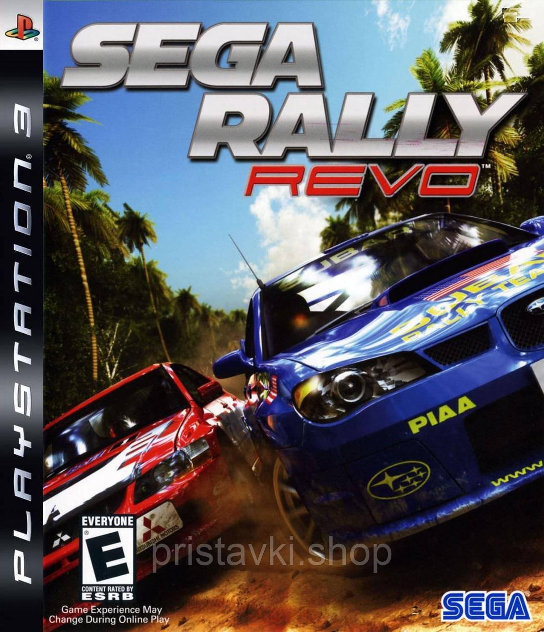 Sega Rally Revo PS3