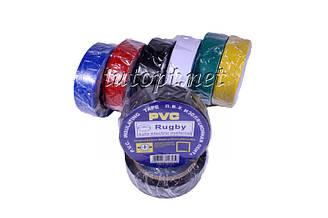 """Ізолента """"PVC"""" Кольорова довжина - 10м, ширина - 19мм, товщина - 0,13 мм"""