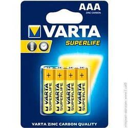 Батарейка Varta superlife R3/AAA 1.5V блистер - 4шт. упаковка - 48шт.