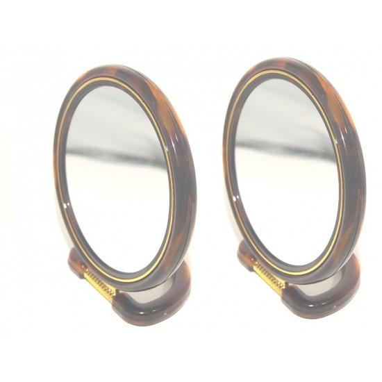 Зеркало двухстороннее овальное №5  (Высота - 112,5см, Ширина 7см)