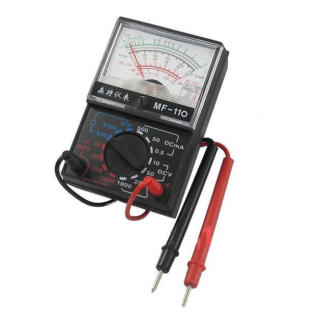 Мультиметр стрелочный, типы измерения - DCV, ACV, DCA. 1000A
