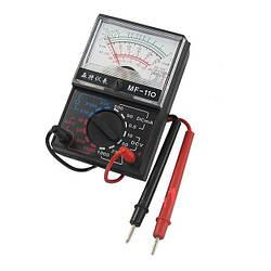 Мультиметр стрілочний, типи вимірювання - DCV, ACV, DCA. 1000A