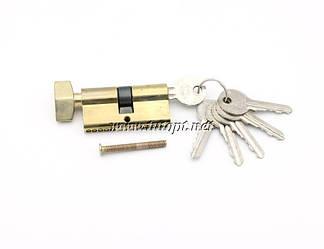 Сердцевина замка 30/30 ключ/барашек, 5 ключей