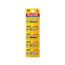 """Батарейки """"Raymax"""" 27A,12V Alkaline блистер - 5шт."""