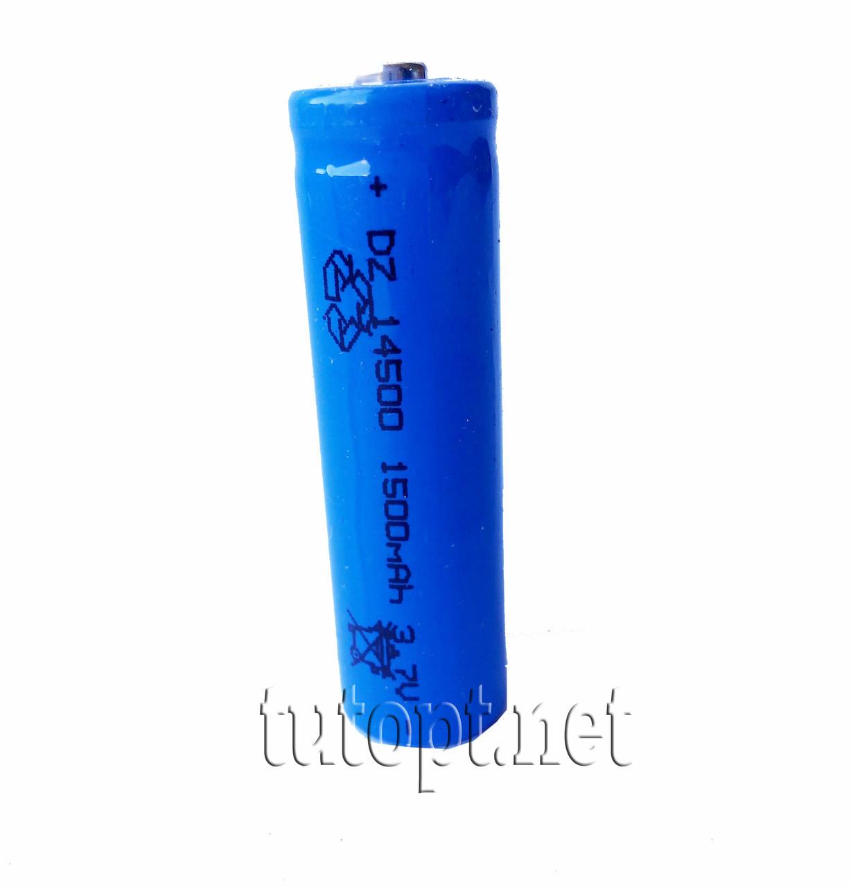 Аккумулятор 1300mAh 3.7V Li-ion 14500 / R6 / AA