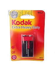 Батарейка Крона KODAK EXTRA HEAVY DUTY 9V 6F22 (Блистр)