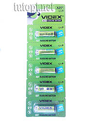 "Батарейки ""Videx"" A27 Alkane Battery 12V блистер - 5 шт."