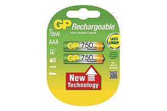 Акумулятор GP AAA R3 750Mh 1 шт.
