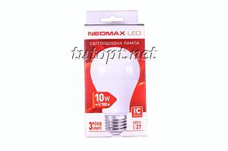 Светодиодная LED лампочка NeoMax 10W NX10L E27 4000K IC Driver