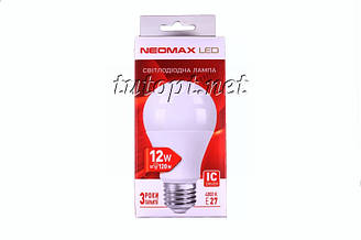Светодиодная LED лампочка NeoMax 12W NX12L E27 4000K IC Driver