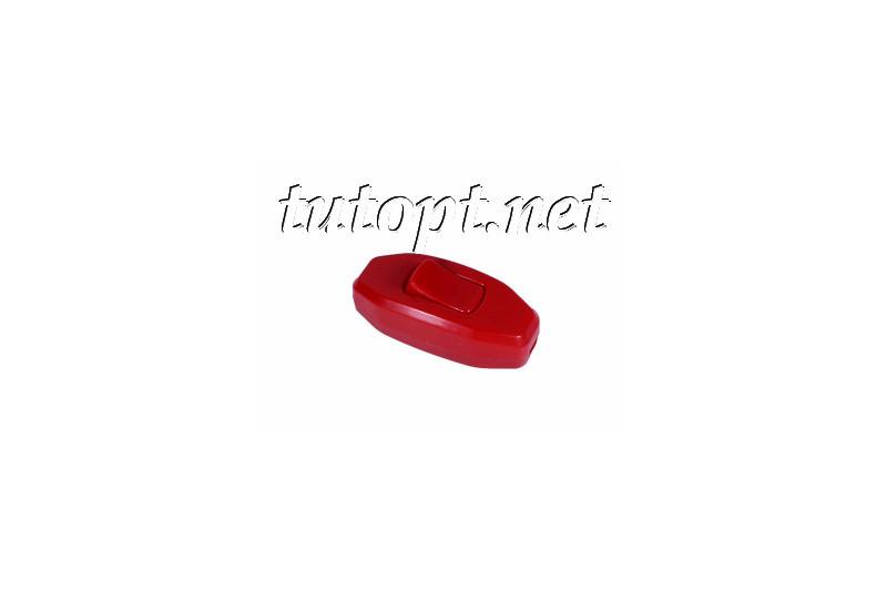Выключатель на бра Красный кнопкой DE-PA 6A 250V
