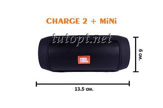 "Портативная беспроводная колонка  USB, SD, FM, Bluetooth JBL CHARGE 2+ mini (W2) ""Реплика"""
