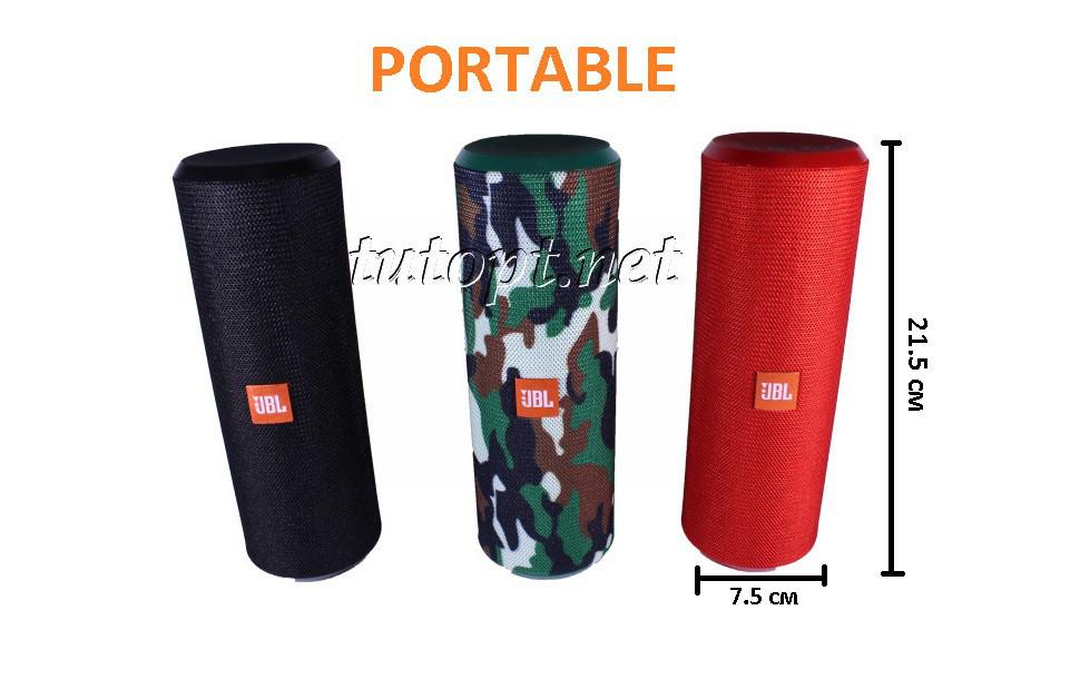 Портативная беспроводная колонка JBL PORTABLE TG-126 USB, SD, FM, Bluetooth,влагоустойчивый