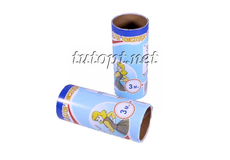 Запаска для ролика-липучки Золушка для чистки одежды 2 штуки по 3 метра
