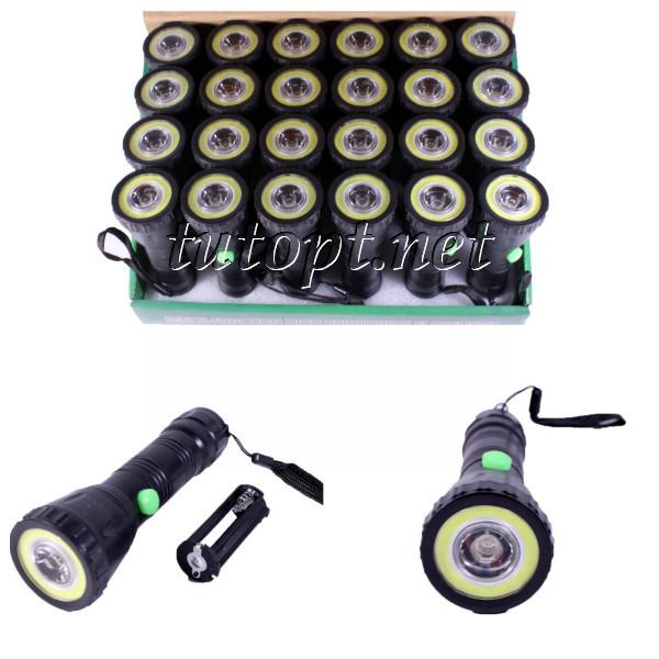 Фонарь WD449/3хAAA/ Zoom/ LED+COB
