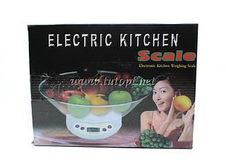 Ваги кухонні Wimpex Wx02 на 10 кг ваги електронні з чашею