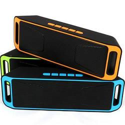 Портативная беспроводная колонка MegaBass A2DP USB, SD, FM, Bluetooth,влагоустойчивый