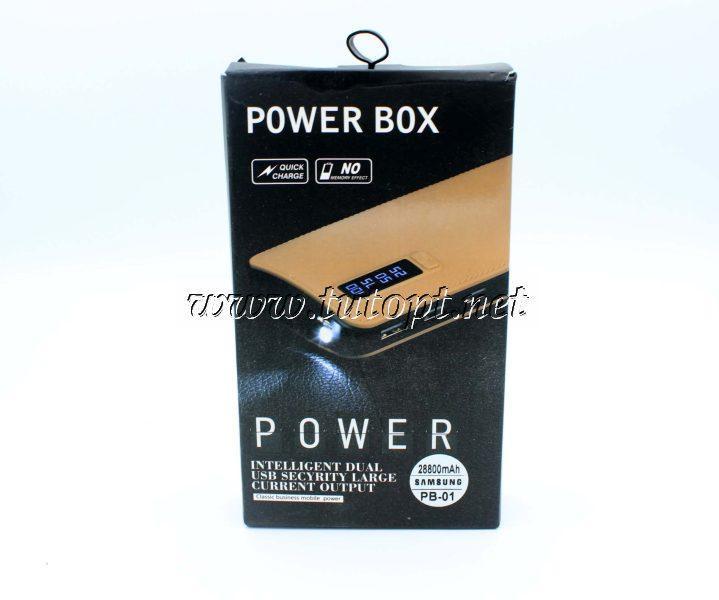 """Power Bank Samsung 28800 mAh PB-01 (реальная емкость меньше) """"Реплика"""""""